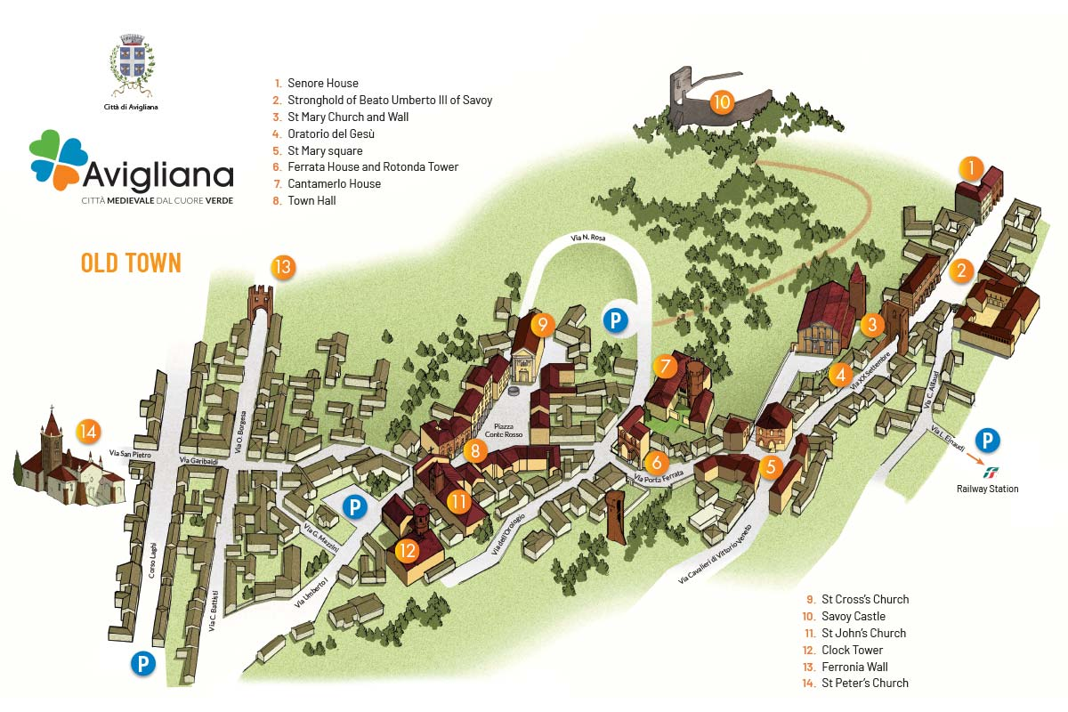 Old town of Avigliana